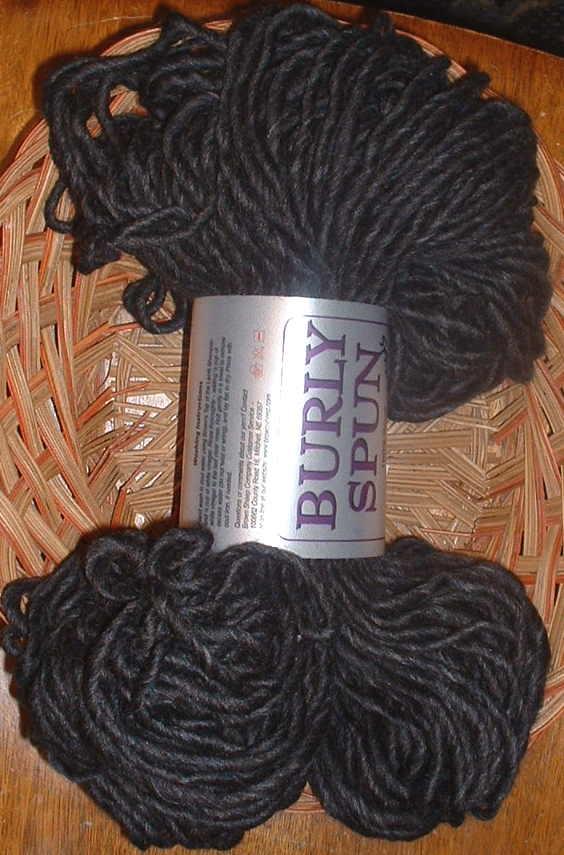 burly spun deep charcoal heather