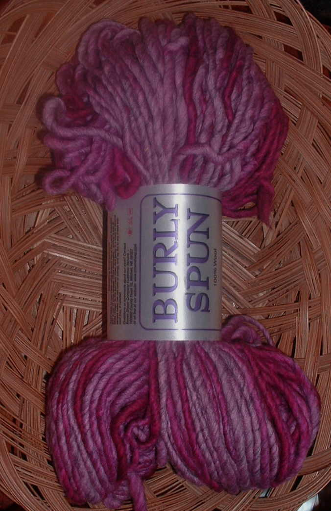 burly spun rosy velvet