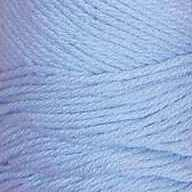 cotton fleece baby blue