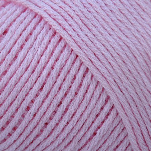cotton fleece pink carnation