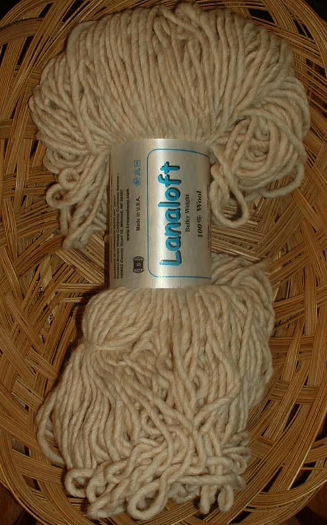 lana loft bulky buckwheat