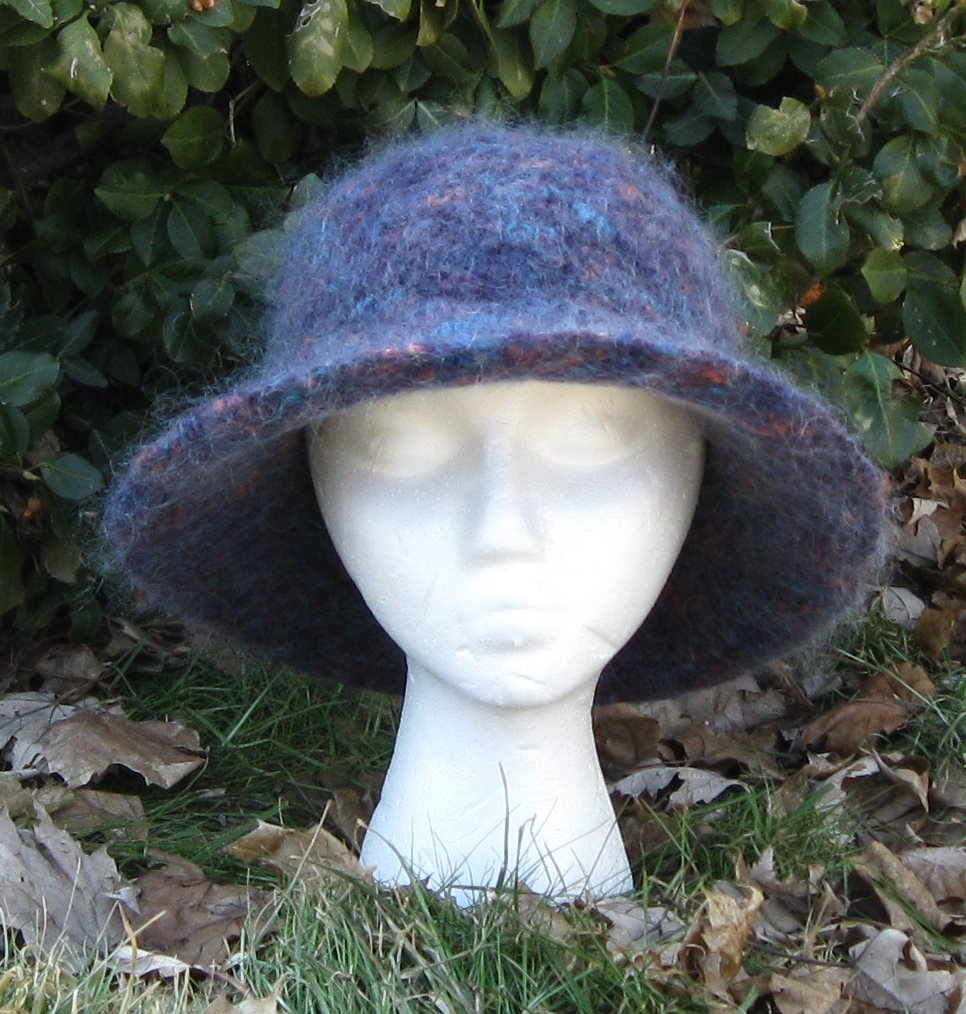 Contemporary Felted Hat Knitting Pattern Crest - Blanket Knitting ...