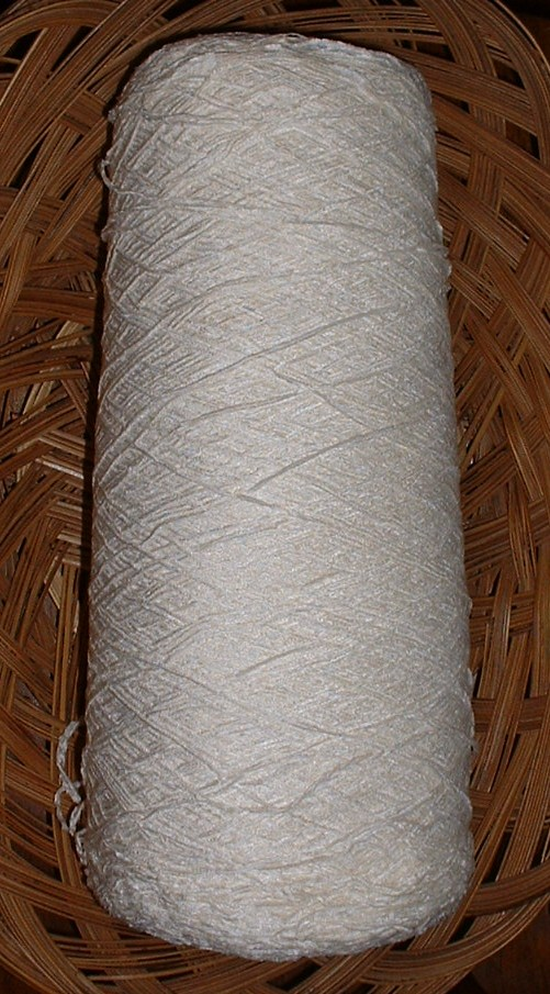 silk city chenille white